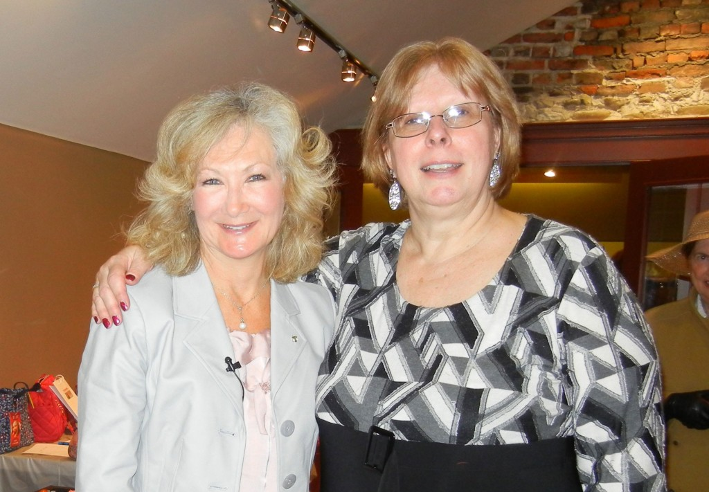 Famous Female Pursenalities - Connie and Nancy